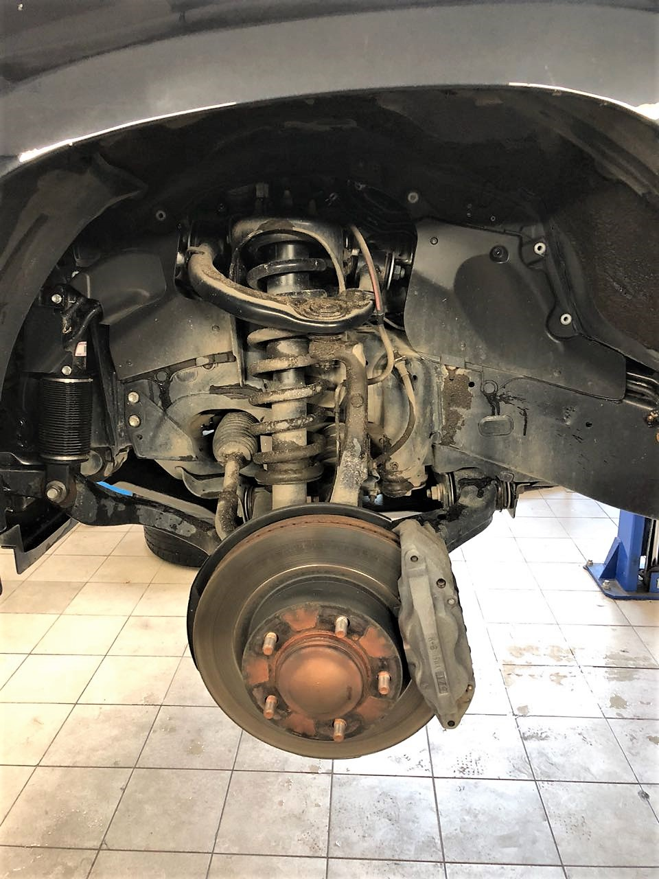 тормоза Toyota LC200