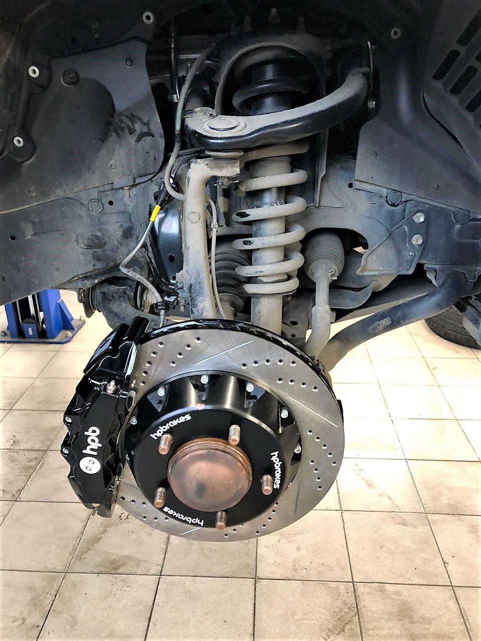 тормоза HPB для Toyota LC200