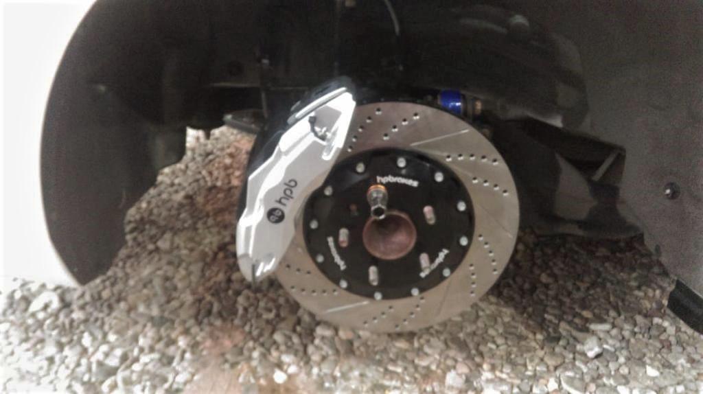 Тормоза HPB на Mazda 6