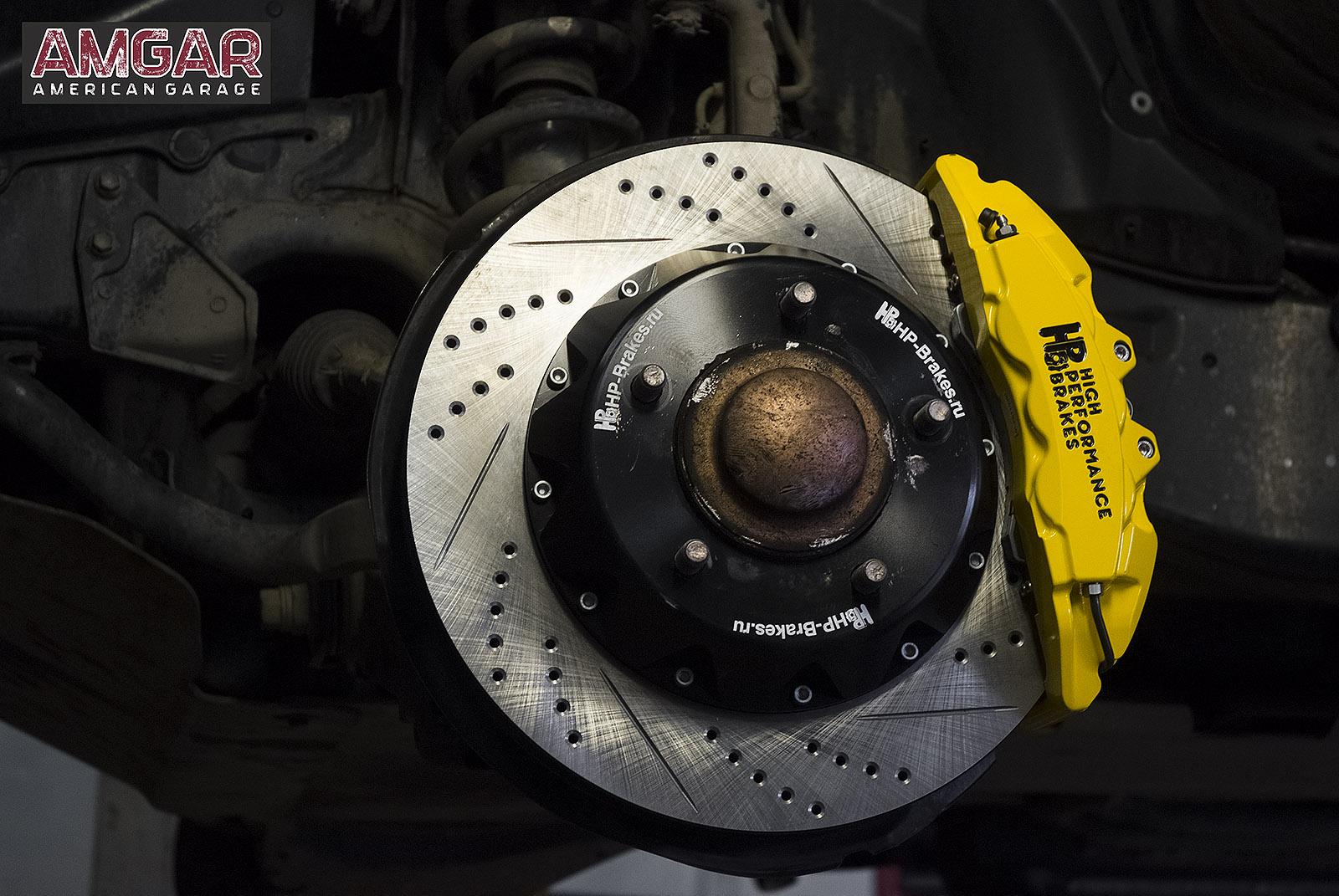тормоза hp-brakes на Lexus LX450d