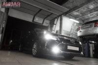 Бронированная Toyota Camry. Замена тормозной системы.