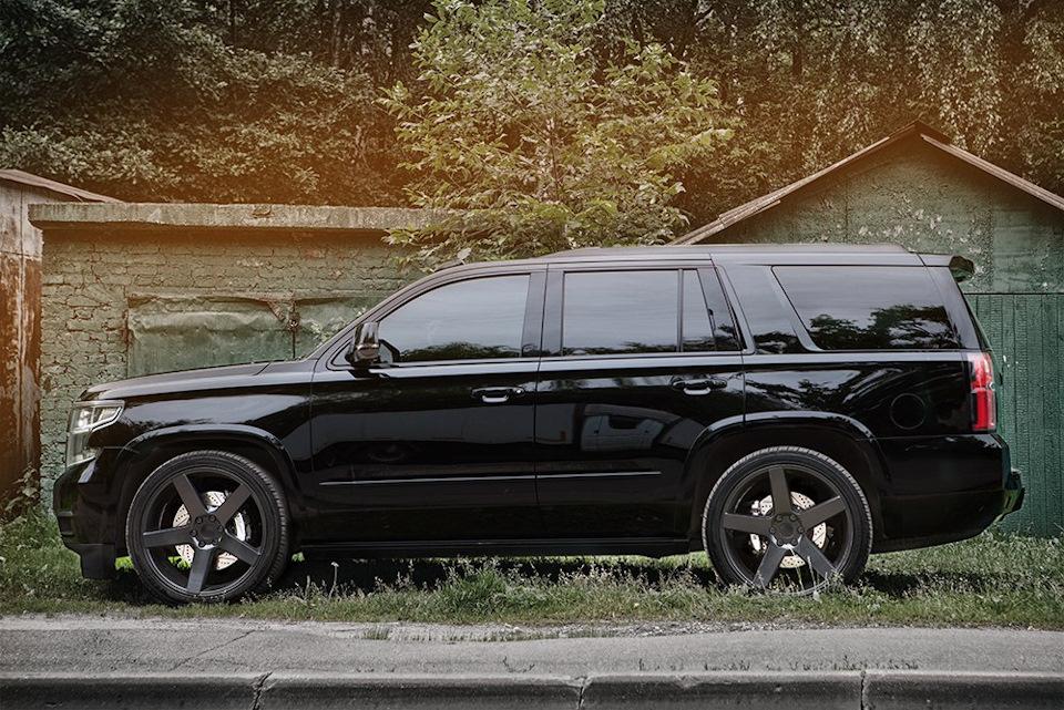 Chevrolet Tahoe. ТормозаHPB