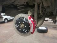 Nissan Patrol (Y62) тормоза HPB_отзыв