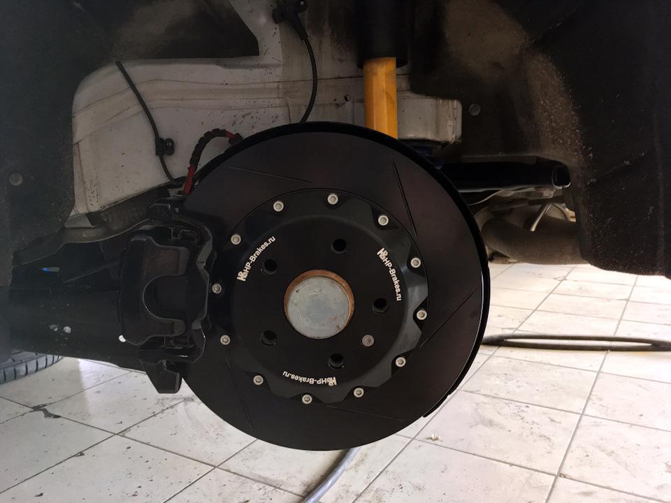 SEAT Leon FR ледяной лев. Тормоза HP-Brakes на переднюю и заднюю ось. Отзыв.