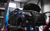 Toyota Alphard. Замена тормозной системы. Установка HPB