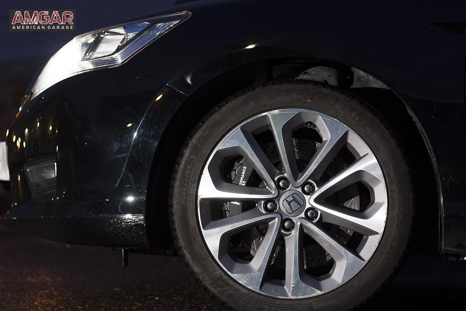 Тормоза на Хонда Аккорд. Ставим HPB