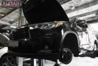 Тормоза на Toyota Highlander. HPB front