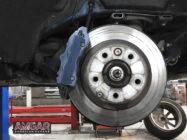 Audi Q7. Замена штатных тормозов
