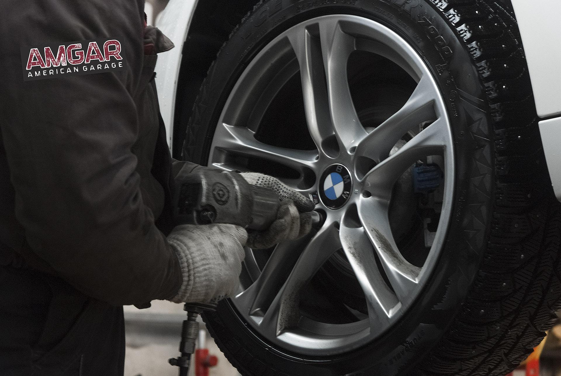 BMW 5-Series F10. Установка тормозов