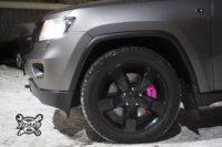 Тюнинг тормозной системы на Jeep Grand Cherokee Сони Темниковой_HPB