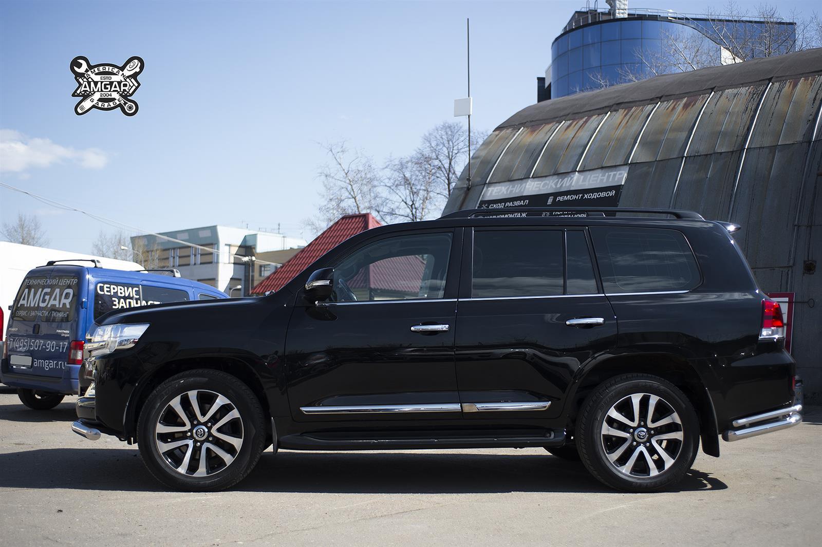Toyota Land Cruiser 200. Замена тормозной системы (2)