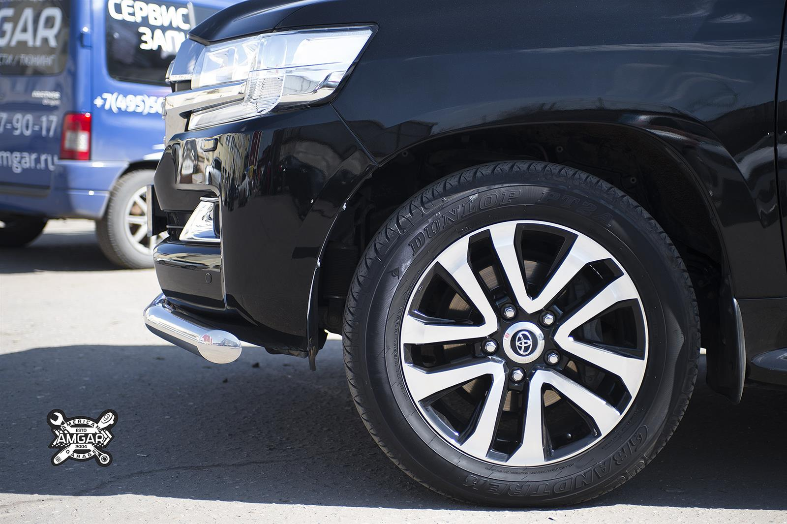 Toyota Land Cruiser 200. Замена тормозной системы (3)
