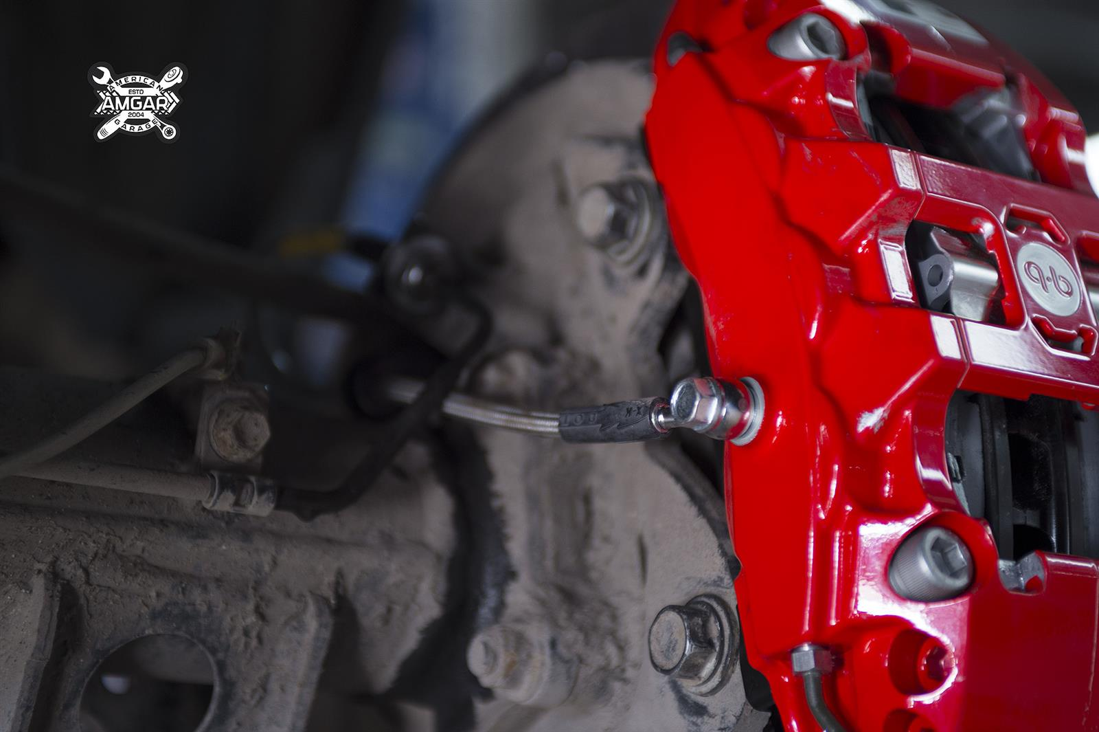 Toyota Land Cruiser 200. Замена тормозной системы. Ставим HPB (17)