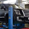 Тормозная система HPB на Cadillac Escalade. Front 405x36mm U8pot & rear380x32mm U6pot