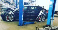 Тормоза HPB на Audi RS3