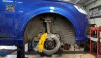 Ставим новые тормоза на Audi Q7. Комплект HPB