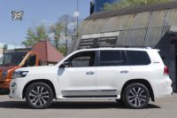 Toyota Land Cruiser 200. Тормоза HPB