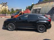Lexus RX. Установка тормозов