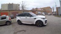 Range Rover Sport. Установка тормозов HPB