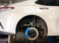Toyota Camry V70. Установка тормозов HPB на заднюю ось