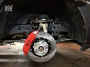 Dodge Ram ставим тормоза HPB