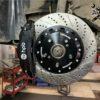 Тормоза HPB для Acura RDX. Диск 345x32mm 4pot