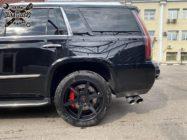 Cadillac Escalade тормоза HPB взамен оригинальных