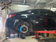 Hyundai Genesis Coupe. Тормоза HPB на переднюю и задню ось.