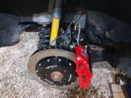 Комплект тормозов HPB на переднюю ось Skoda Yeti